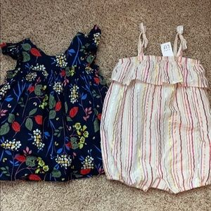 Baby outfits both for $7
